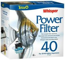 Tetra Whisper Power Filter 40, For Aquariums 20 To 40 Gallons