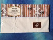 Hermes Paris For Wamsutta Vintage Twin Sheet New