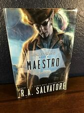 RA Salvatore MAESTRO Drizzt Homecoming II FIRST 1st EDITION HC Forgotten Realms!