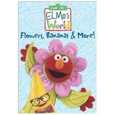NEW DVD // Sesame Street - ELMO'S WORLD -  FLOWERS , BANANAS , & MORE - 50min