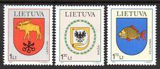 Lithuania - 2001 Communal coats of arms Mi. 774-76 MNH