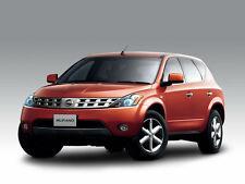 Nissan Murano Z50 2003-2007 Workshop Service Repair Manual on CD