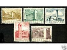 Nederland Netherlands  655-659 gebouwen  Zomerzegels  1955 postfris/mnh