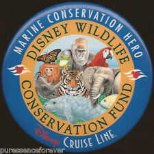 Disney Button Badge: Wildlife Conservation - Disney Cruise Line