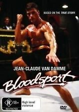 BLOODSPORT Jean-Claude Van Damme DVD R4 NEW - PAL