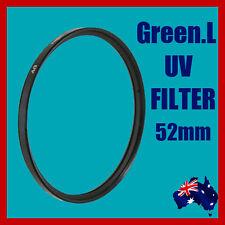 High Quality DSLR Camera Lens 52mm UV (Ultra-Violet) Filter Canon Nikon Sony