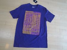 Nike Men's Athletic Cut Logo( Purple 547) Tee Size: Xl $25