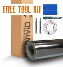 VVIVID Black Supercast Conform Chrome Car Wrap Vinyl 45ft x 5ft + Free Tool Kit