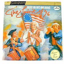 "Fredrick Fennell Spirit 76 Files Drums Record Vinyl LP 12"" SRI75048 Marching"