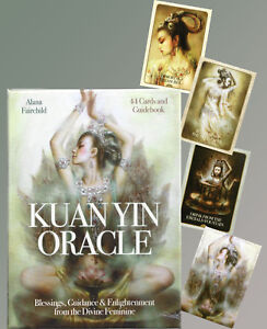 LARGER KUAN YIN ORACLE BLESSINGS,GUIDANCE BOOK & CARDS by ALANA FAIRCHILD