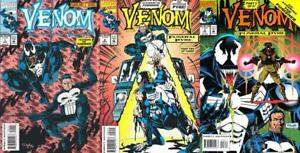 Venom: Funeral Pyre #1-3 Complete Set NM