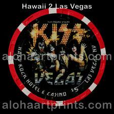 New listing Hard Rock Casino Kiss $5 Paulson Clay Poker Chip Very Rare!