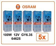 5x 64625 100W 12V GY6.35 OSRAM FCR A1/215 gy6,35 photo studio projector halogen