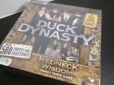 Duck Dynasty Redneck Wisdom Family Party Game