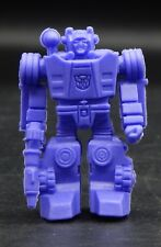 Japanese Transformers SIDESWIPE decoy keshi rubber figure purple Autobot cool !!