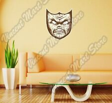 "Scary Devil Evil Mask Angry Hell Wall Sticker Room Interior Decor 20""X25"""