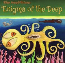 v1ENIGMA OF THE DEEP by the AmpFibians instrumental surf spy spaghetti fun dance