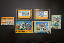 Famicom FC Super Mario Bros 1 3 boxed Japan Nintendo games US Seller