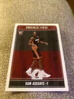 2017-18 NBA Hoops Bam Adebayo Rookie Card RC #264 Adebayo Hoops Rookie Heat