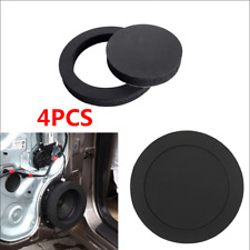 "4x 6.5"" Car Door Speaker Bass Ring Foam Woofer Pad Noise Sound Wave Accessories"