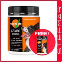 Rosehip Vital Canine Powder 500g 500 gms + FREE Bonus 150g