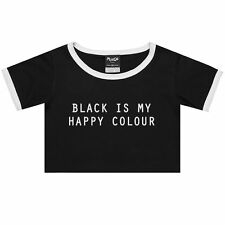 Crew Neck Tumblr Graphic T-Shirts for Women