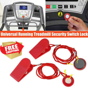 RED MAGNETIC TREADMILL FITNESS RUNNING MACHINE SAFETY KEY REPLACEMENT