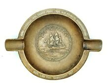 USS Constitution 1927 COPPER ASHTRAY Made From Material Taken From The Ship