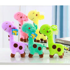 Lovely Fashion Giraffe Dear Soft Plush Toy Stuffed Soft Animal Dolls Baby Kids