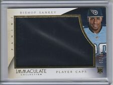 2014 Immaculate Collection Rookie Player Caps #19 Bishop Sankey 03/49