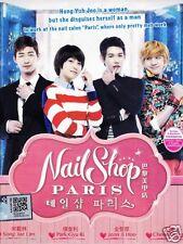 NAIL SHOP PARIS Korean Tv Drama ( 3 Dvd ) NTSC All Region Good English Sub New