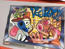 Ren & Stimpy Show Veediots (Super Nintendo SNES) Poster!!