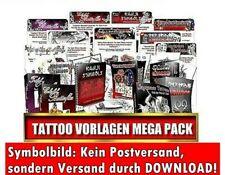 DOWNLOAD Tattoo Vorlagen MEGA-PACK Nischen Pack E-LIZENZ Tätowierung Tattoos NEU