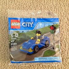 Lego City 30349 The Blue Sport Car cool minifigure sealed new 47 Pcs convertible