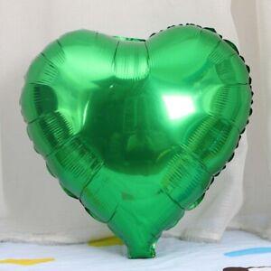 "5 PCS 18"" Heart Star Foil Balloons Helium Festival Wedding Birthday Party Decor"