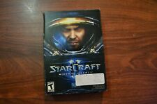 STARCRAFT 2 : WINGS OF LIBERTY PC INCLUDES CD AUTHENTICATION KEY COMPLETE