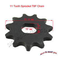Electric Scooter 11 Tooth Sprocket T8F Chain For Pinion Gear MY1020 Motor Engine