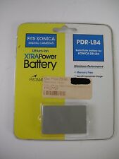 Promaster PDR-LB4 replacement battery for Konica 3.6V / 1000mAh