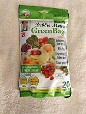Debbie Meyer Green Bags - Reusable BPA Free Food Storage Bags 20 pc Variety Pack