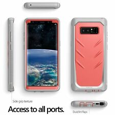 "Poetic Revolution ""360 Degree Protection"" Case For Samsung Galaxy Note 8 Pink"