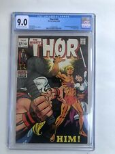 Thor 165 cgc 9.0 Off-white to White pages 1st Appearance Of Adam Warlock.
