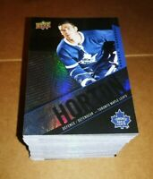 2015 -2016 Tim Horton's Full Set of Base Hockey Cards 1-100 Great Condition