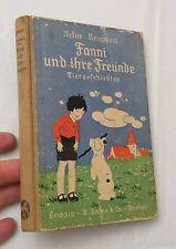 1938, Fanni und ihre Freunde (Fannie & Her Friends) German Illustrated Childrens