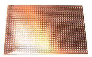 UTRONIX LIMITED VERO BOARD PROTOTYPING COPPER STRIP BOARD 64mm x 95mm