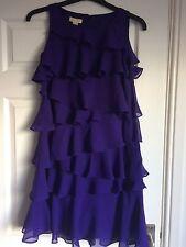 Monsoon Purple Party Dress Size 10 BNWT