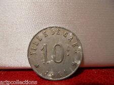 1921 JETON NECESSITE COMMERCE 10C CAEN NORMANDIE (14) CALVADOS