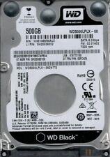 "Western Digital disco rigido 2,5"" per portatile WD Black SATA3 HDD 500gb 7200rpm"