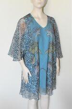 MARINA RINALDI by MAX MARA,  SILK Tunic, Plus Size MR 25, 16W US, 46 DE, 54 IT