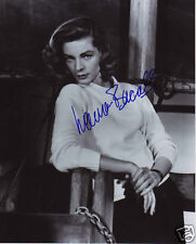 LAUREN BACALL AUTOGRAPH SIGNED PP PHOTO POSTER