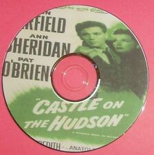 FILM NOIR 246: CASTLE ON THE HUDSON 1940 Anatole Litvak John Garfield, O'Brien